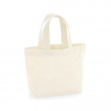 caeea8d04215 Eko mini torebka z bawełny organicznej W8453 KOLORY